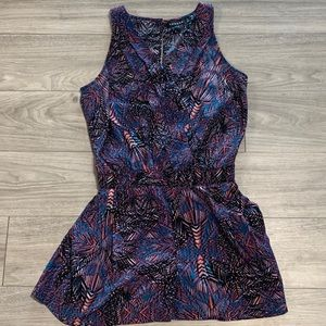 3/$20 Sale! Trouve Aztec Sleeveless Romper